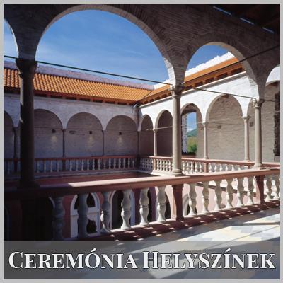 Ceremónia Helyszínek