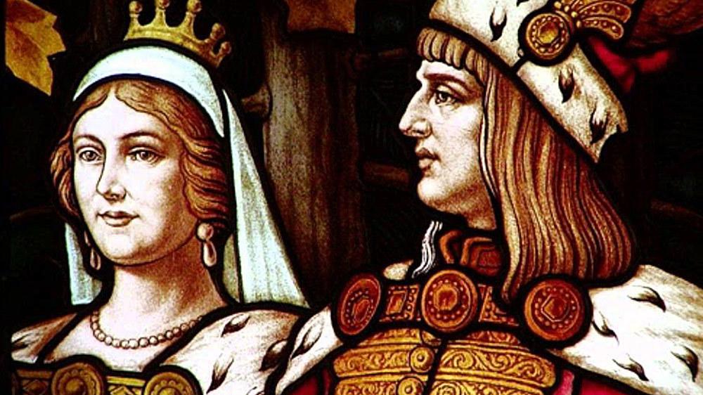 mátyás király és beatrix királyné visegrádon