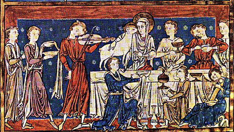 esküvő és húsvét a középkorban