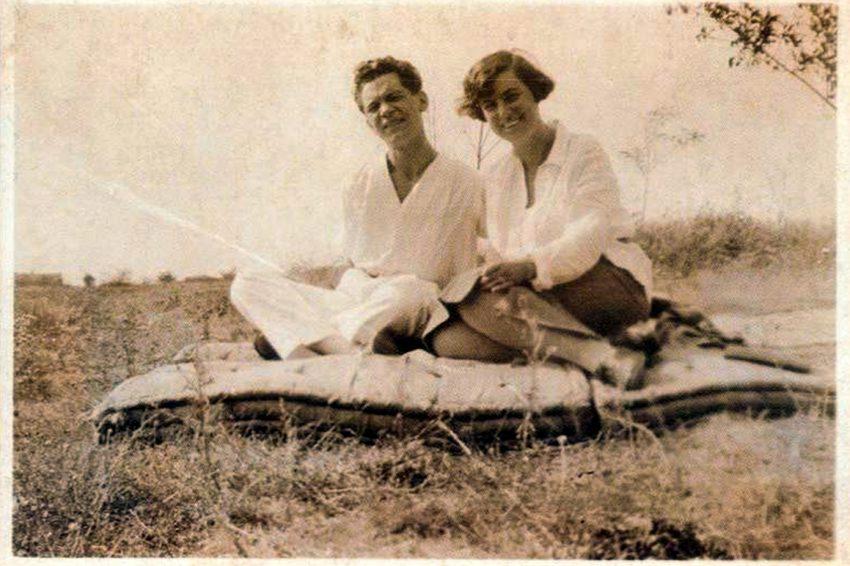 József Attila és Vágó Márta