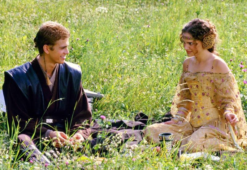 Anakin és Padmé a Naboon