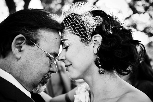 visegrádi esküvő_menyasszony és apa